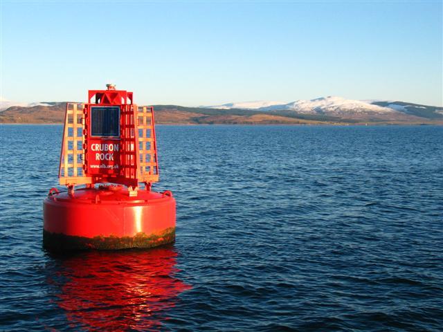 Navigational buoy in the Kilbrannan Sound