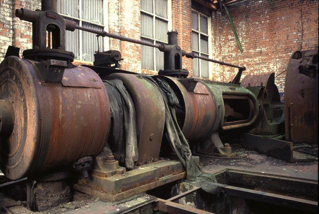 Uniflow steam engine, Landore Works