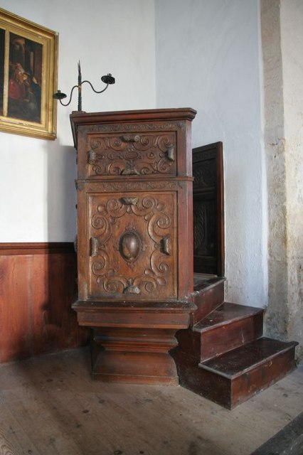 Pulpit in St Mary's