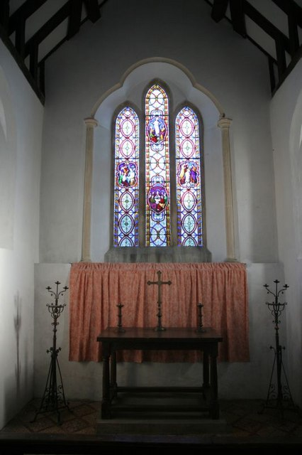 End of the chancel