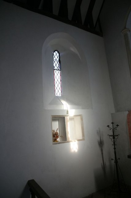 Window over the alcove