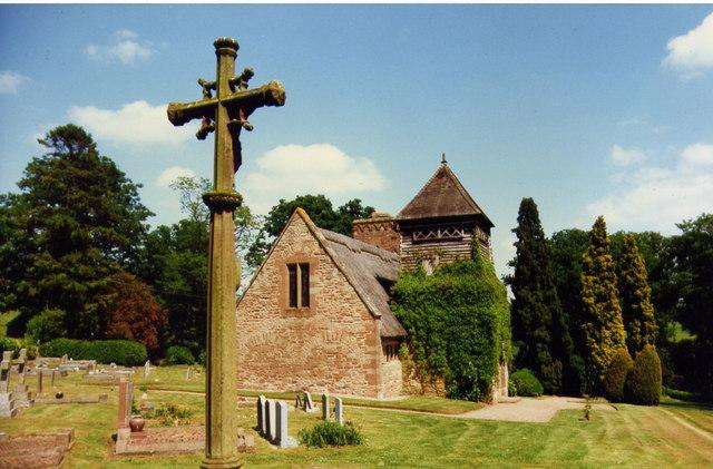 Brockhampton church
