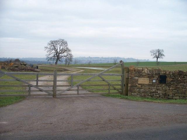 Footpath meets road