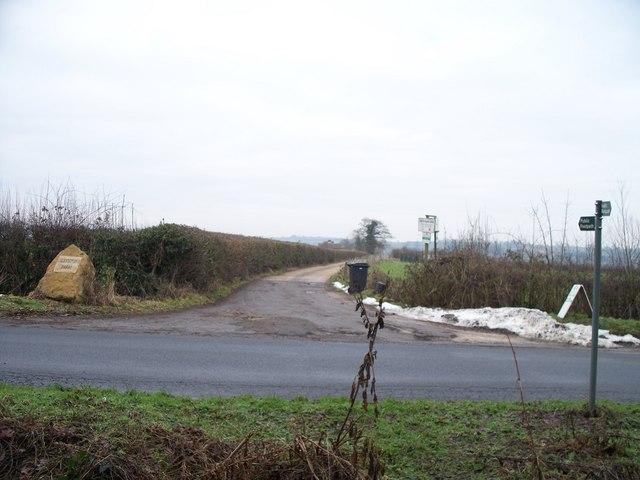 Driveway to Greystone Farm