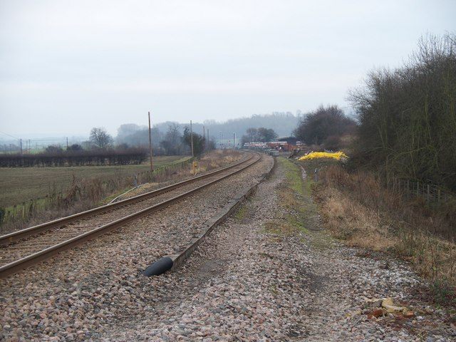 Along the line to London