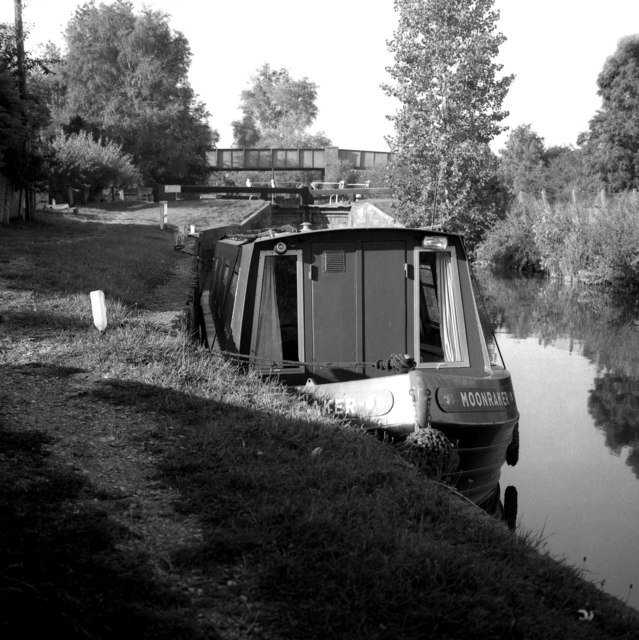 Kennet & Avon Navigation:  Little Bedwyn Lock No 66