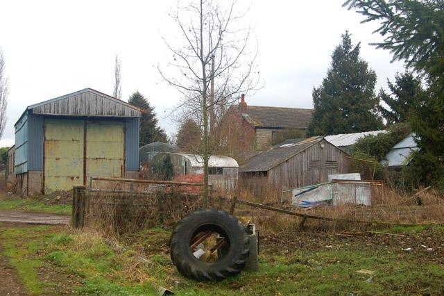 The back of Sunnyside Farm, Tomlow