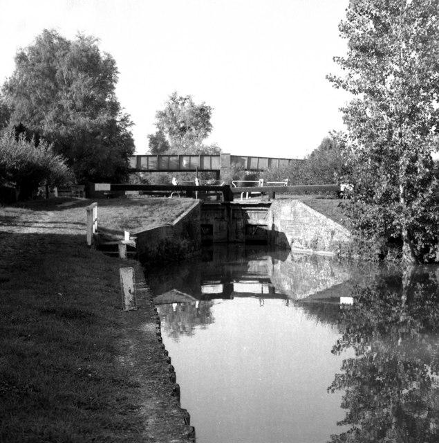 Kennet & Avon Navigation:  Little Bedwyn Lock No 66