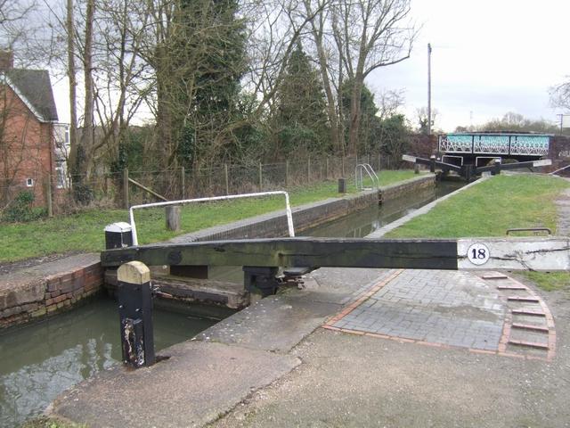Lapworth Locks - Lock No. 18