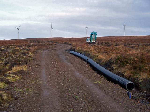 New track to the wind farm