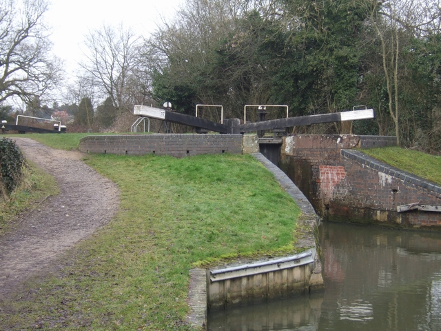 Lapworth Locks - Lock No. 17