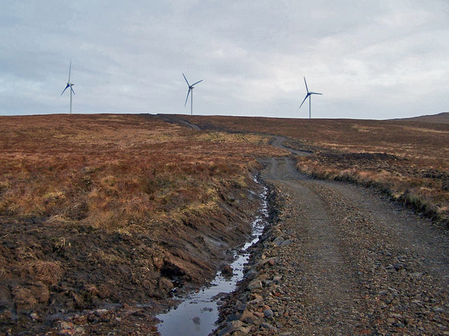 New track to the windfarm