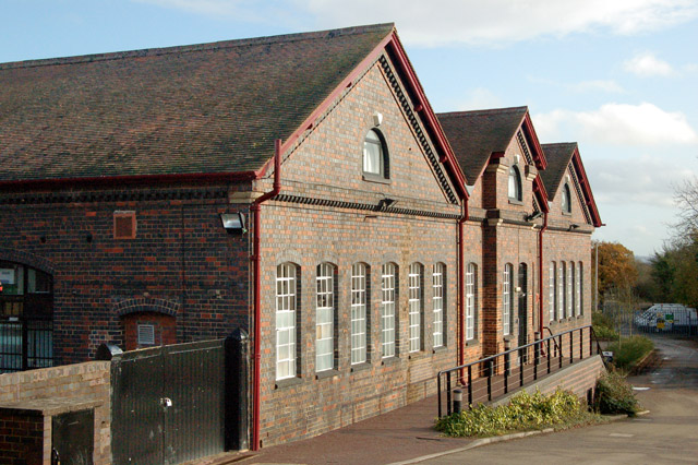 South elevation of Grand Union Canal workshops at Hatton