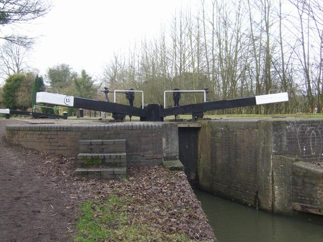 Lapworth Locks - Lock No. 15