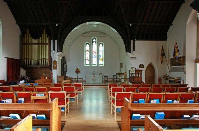 Christ Church, Little Heath (Potters Bar), Herts - East end