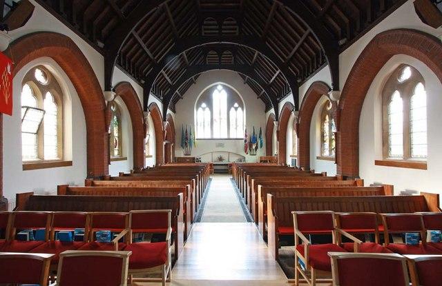 Christ Church, Little Heath (Potters Bar), Herts - West end