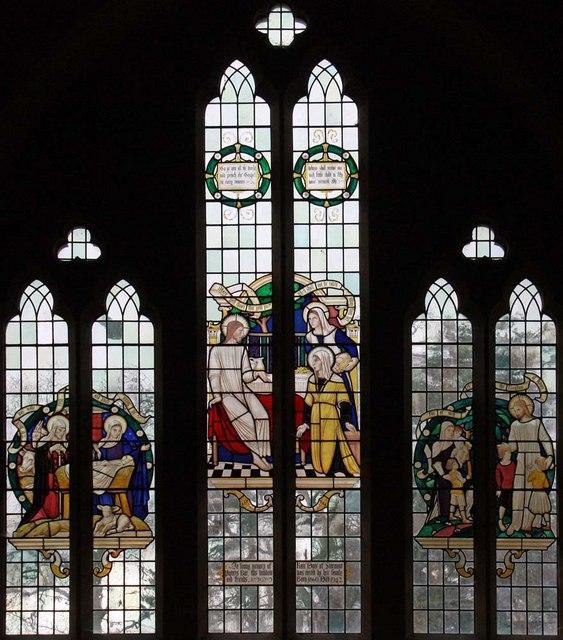 Christ Church, Little Heath (Potters Bar), Herts - West window