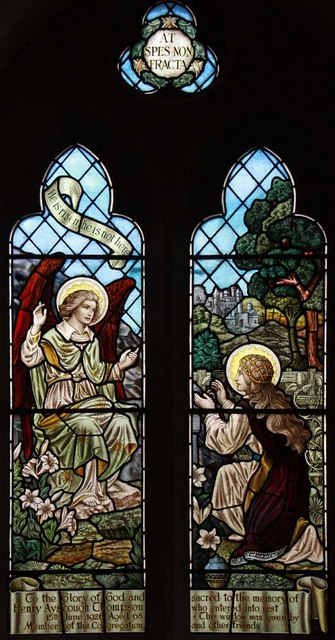 Christ Church, Little Heath (Potters Bar), Herts - Window