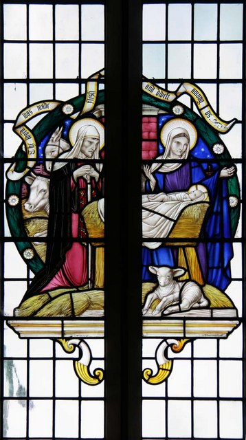 Christ Church, Little Heath (Potters Bar), Herts - Window