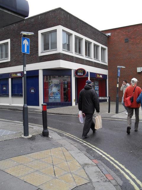 Bookies in Bedford Street