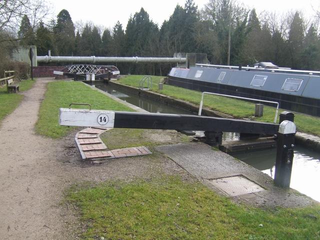 Lapworth Locks - Lock No. 14