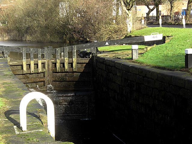 Sladen Lock no 44 Rochdale Canal