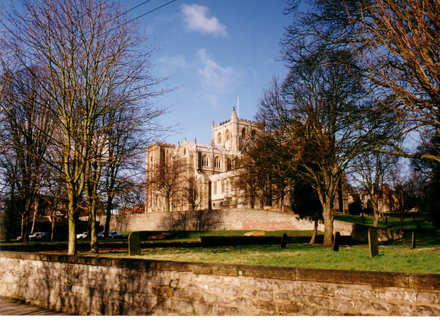 Ripon Cathedral in Winter