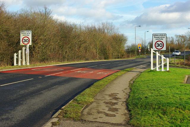 Smallfield  please drive carefully