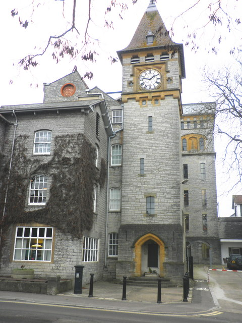 Clock tower, C & J Clark, Street