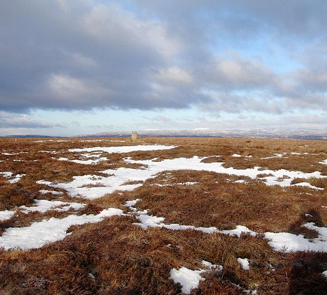 Summit plateau of Hoove