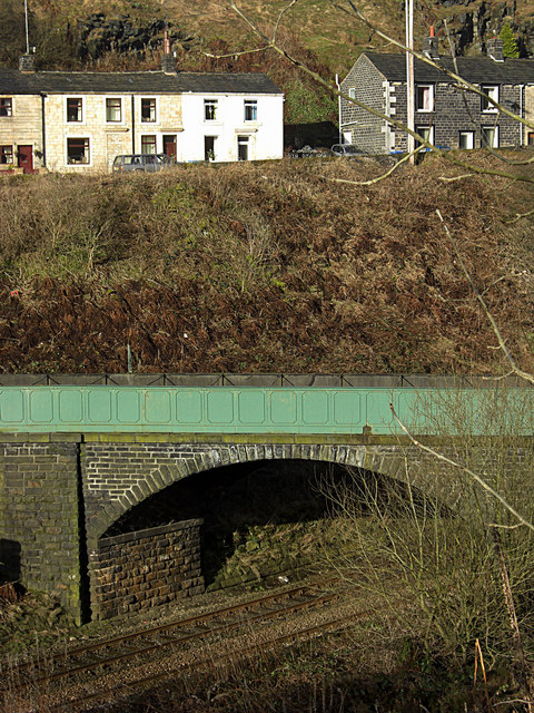 Aqueduct across the railway near Summit