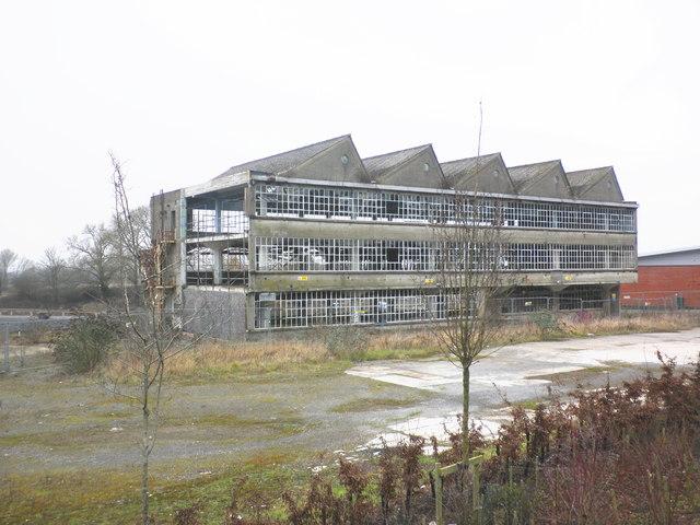 Abandoned leather factory, Glastonbury