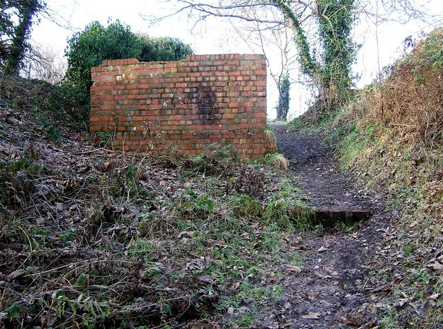 Top of footpath from Timber Lane