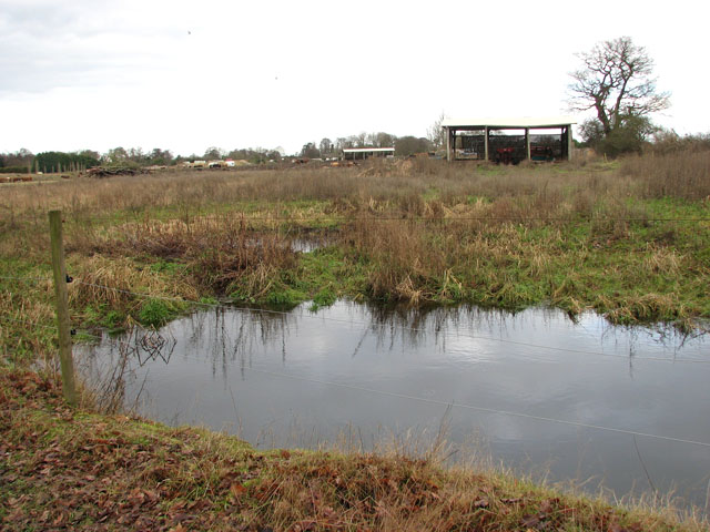 Sheds south of Doles Farm