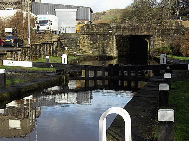 Lock no 41 Rochdale Canal
