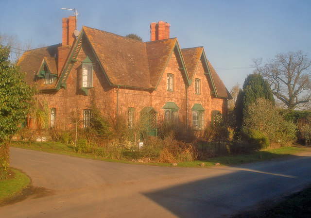 House at the entrance to the Bromesberrow Estate