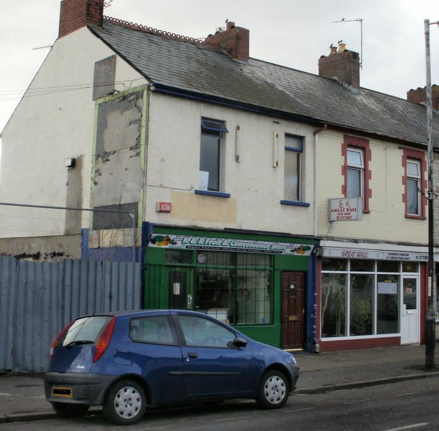Two shops - 188 and 190 Cromwell Road, Newport