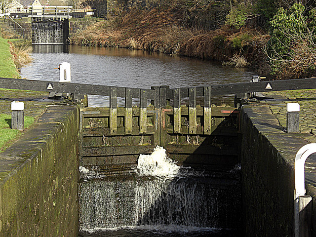 Punchbowl Lock no 40 Rochdale Canal