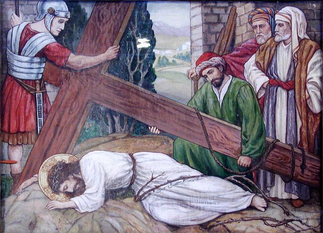 The Ascension, Lavender Hill, London SW11 - Station of the Cross