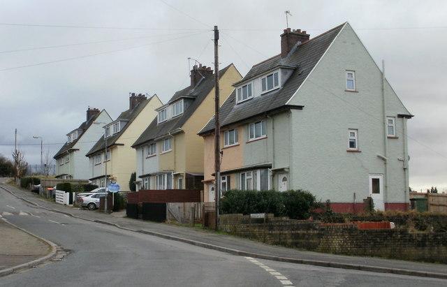 Libeneth Road houses, Newport