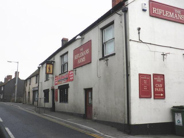 The Riflemans Arms, Chilkwell Street, Glastonbury