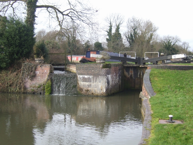 Lapworth Locks - Lock No. 13