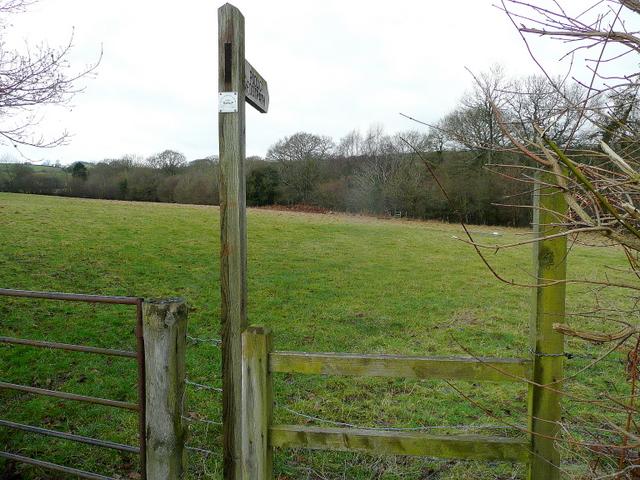 Footpath to Brilley Court