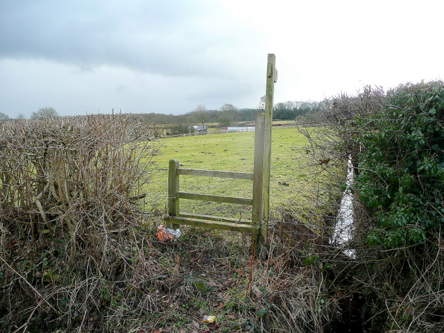 Footpath to Knapp Farm