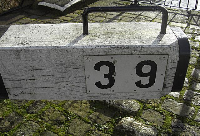 Lock no 39 Rochdale Canal