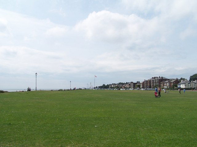 Looking West on The Green, Lytham