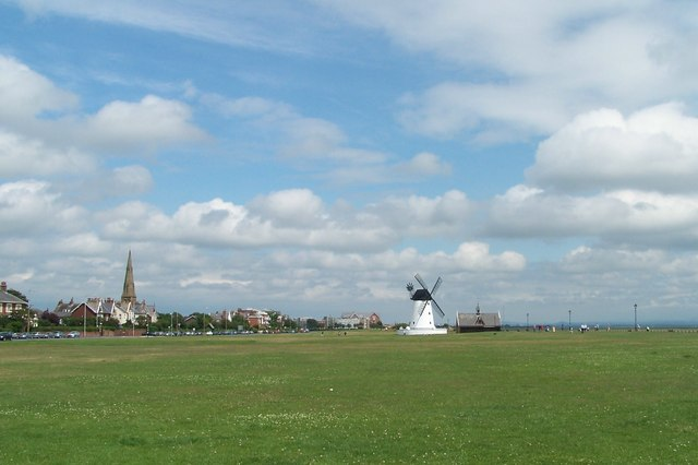 Looking East on The Green, Lytham