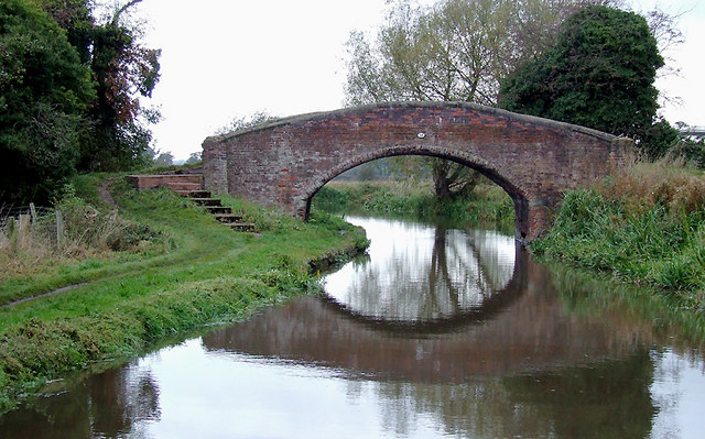 Bridge No 68, Trent and Mersey Canal north of Rugeley