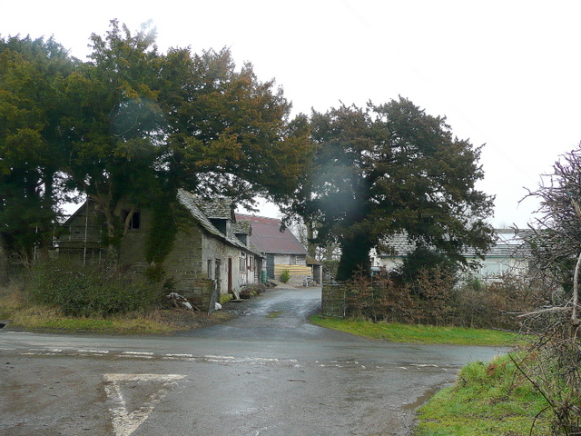 Crossway in the rain