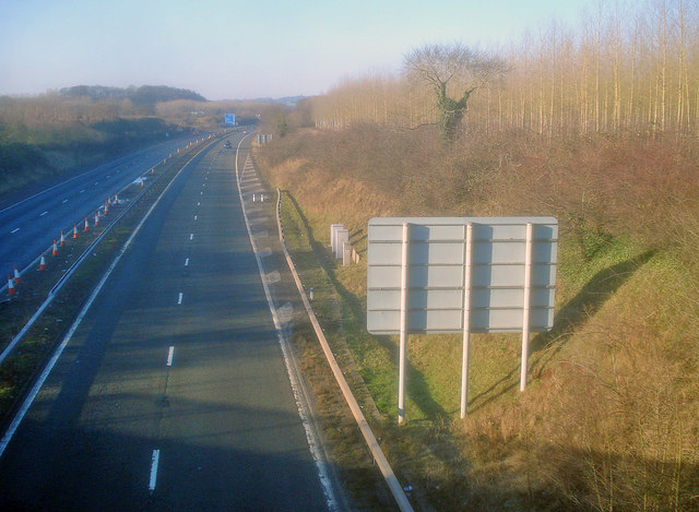 M50 near Bury Court